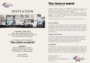 profil des artistes affiche expo CCVF