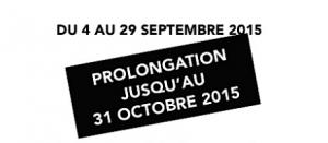 Prolongation 31 octobre 2015