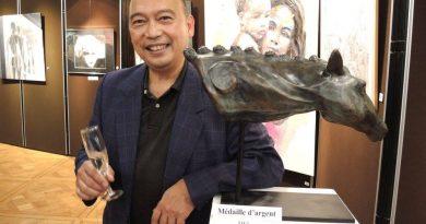 Jusqu'au samedi 21 octobre 2017, exposition du bronze EQUUS de Jean-Pierre Vong, au 56ième Salon de l'Amicale des Artistes Français (Vincennes)
