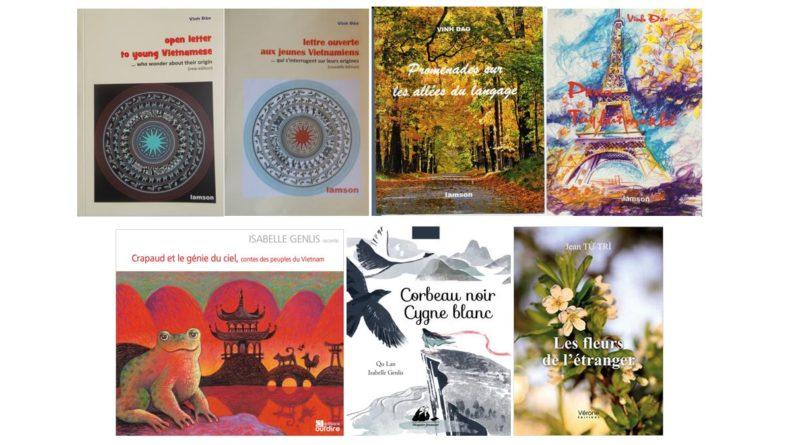 13-10-2018 rencontre culturelle du MCFV (Paris) : livres, CD/DVD, photos, peintures, vente, dédicaces ; présentations : Isabelle Genlis, Vinh Dao et Jean Tu Tri