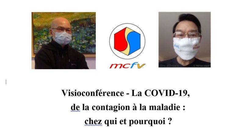 Conférence à distance (webinaire) du MCFV sur la COVID 19 par des médecins, Pr DINH-XUAN Anh Tuan et Dr TRINH Dinh Hy, le 24-10-2020
