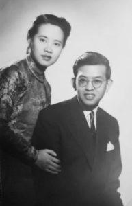 Professeur Lê Thành Khôi et sa femme, Mme Thâm Thi Hông Anh.